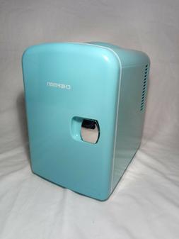 Chefman Mini Portable Compact Personal Fridge, Cools & Heats