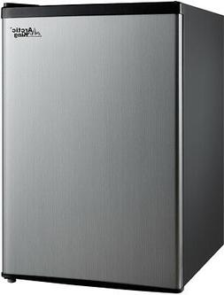 mini refrigerator 2 4 cu ft stainless