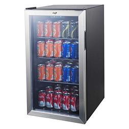 Whirlpool 3.6cu ft Mini Refrigerator Beverage Center-Stainle