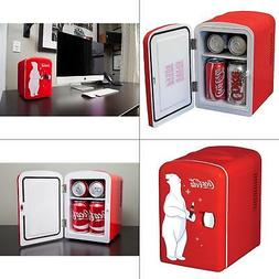 MINI REFRIGERATOR Coca-Cola Koolatron Desktop Electric 6-Can