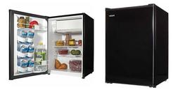 MINI REFRIGIRATOR, FREEZER, Dorm Haier 2.7 cu ft New Black,