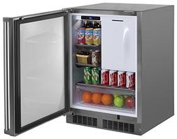 Marvel MO24RFS2RS Outdoor Refrigerator and Freezer, Solid Do