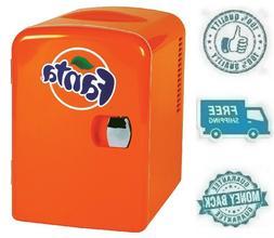 New Fanta Portable Mini Fridge Refrigerator Small Soft Drink