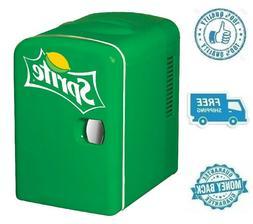New Sprite Portable Mini Fridge Refrigerator Small Soft Drin