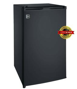 NEW RCA RFR320-BLACK 3.2 Cu Ft Single Door Mini Fridge Dorm