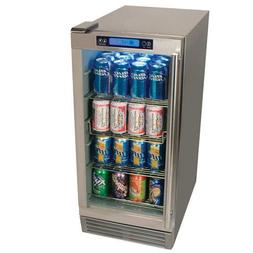 EdgeStar OBR900SS Outdoor Beverage Refrigerator 84 Can Stain