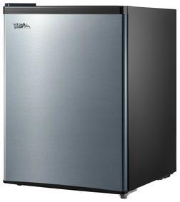 One Door Small Fridge Mini Refrigerator 2.4Cu Ft Manual Defr
