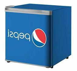 CURTIS Pepsi FR101PEP 1.6 cu ft Compact Mini Fridge Perfect
