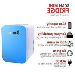 ZOKOP Mini Portable 6L 8 Can Mini Fridge Cooler/Warmer Home