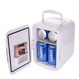 QIHANGCHEPIN Portable 4L Car Refrigerators Cooling Heating D