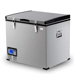 Costway Portable Compressor Refrigerator Freezer Compact Veh