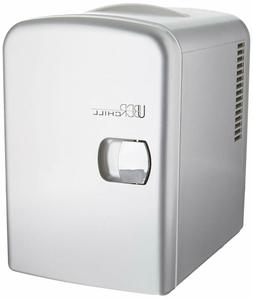 Portable Mini Fridge For Bedroom Office Travels Cooler And W