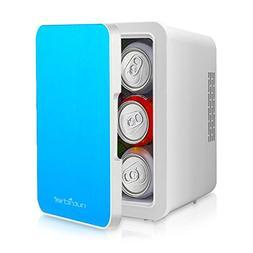 NutriChef Portable Mini Fridge - Personal Compact Electric C