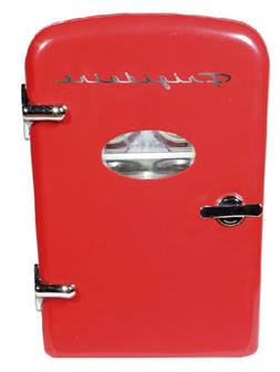 Frigidaire Portable Retro 6 can Mini Fridge EFMIS129 Red com