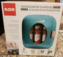 RCA Portable Retro Style 12 - Can Mini Refrigerator