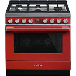 Smeg Portofino CPF36UGMR 36''x 25'', 4.5 cu. ft. Oven Freest