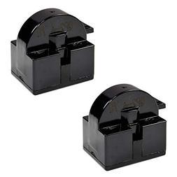 HQRP 2-Pack QP2-4.7 4.7 Ohm 1-Pin PTC Starter/Start Relay Re