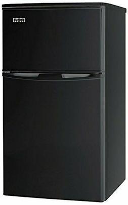RCA Igloo 3 2 Cubic Ft 2 Door Fridge Freezer Black Adj Therm