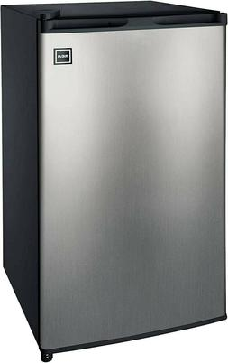 RCA RFR322-B 3.2 Cu Ft Single Door Mini Fridge with Freezer