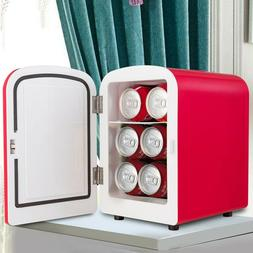Red 4L Portable Auto Car 2 in 1 Mini Warmer Cooler Refrigera