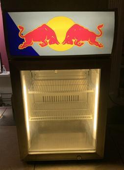Red Bull Energy Drink Mini Fridge Table Top Small Refrigerat