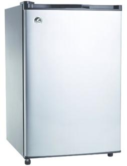 4.6-Cu-Ft Refrigerator, Stainless Steel Door - Igloo - FR465