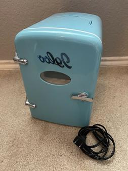 Retro Igloo Mini Fridge Model MIS129C-Blue 6 Can Beverage Mi