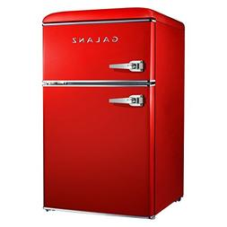 Galanz 3.1 cu ft Red Retro Mini Fridge