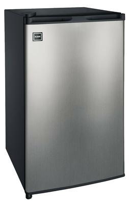 Igloo RFR322 3.2 cu ft. Refrigerator Stainless Steel Refrige