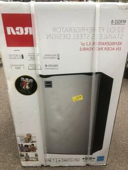 RCA RFR322-B 3.2 Cu Ft Single Door Mini Fridge 3.2 Cu Ft Fri
