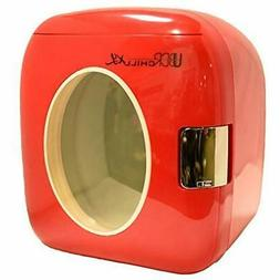 SALE UB-XL1-RED Chill 12 Can Retro Personal Mini Fridge Kitc