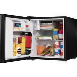 Single Door Home Office Mini Fridge Black Kitchen Dorm Room