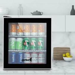 Single Door Mini Fridge Beverage Cooler Compact Refrigerator