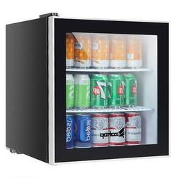 Single Door Mini Fridge Beverage Cooler Refrigerator Dorm Ro