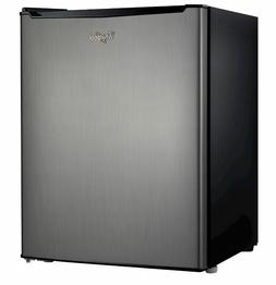 Small Whirlpool 2.7cu ft Mini Compact Refrigerator Stainless