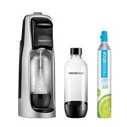 SodaStream Jet Sparkling Water Maker Starter Kit, Black and