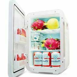 Stainless Steel Mini Refrigerator Portable Car Fridge Cooler