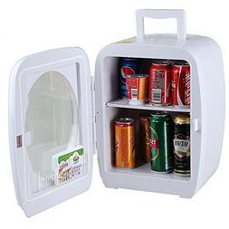 SMETA 12V Portable Compact Car Vehicle Refrigerator Personal
