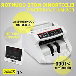 TMS® Digital Money Cash Bank Bill Counter Counting Machine