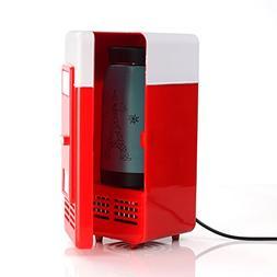 Lychee 5V USB Power Operated Portable Mini Fridge With Cooli